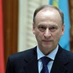 секретарь Совбеза Николай Патрушев