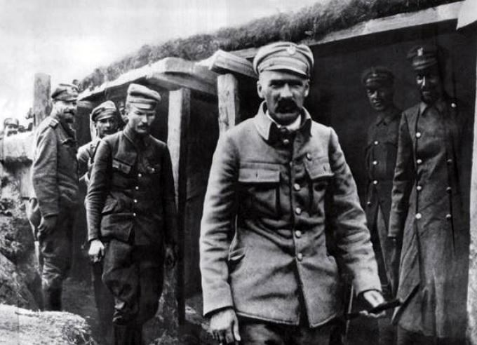 На службе у Австро-Венгрии. С легионерами на Волыни, 1916 г.