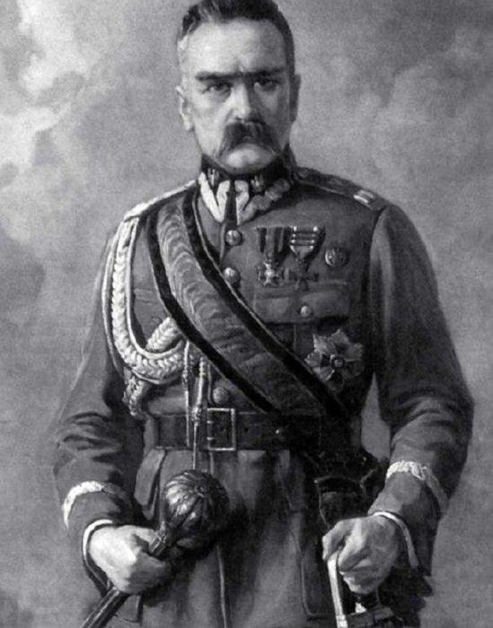 Поглавник (Диктатор) Польши – Юзеф Пилсудский.